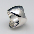 Sterling Silver Star Trek Ring